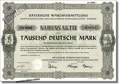 Bayerische Warenvermittlung BayWa