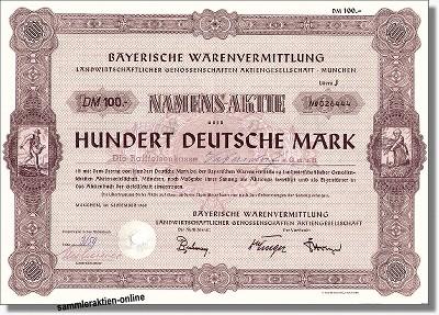 Bayerische Warenvermittlung AG - BayWa
