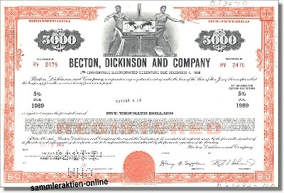Becton, Dickinson and Company