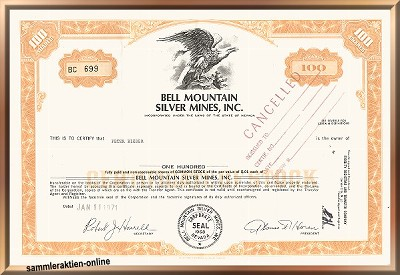 Bell Mountain Silver Mines