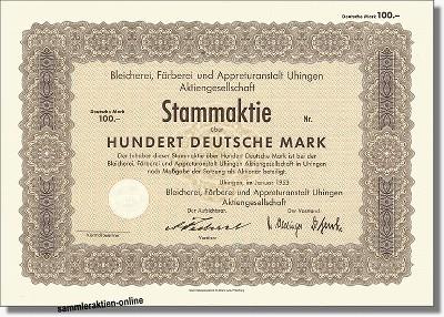 Bleicherei, Färberei & Appreturanstalt AG