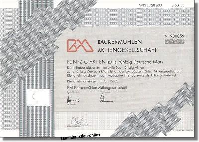 BM Bäckermühlen AG