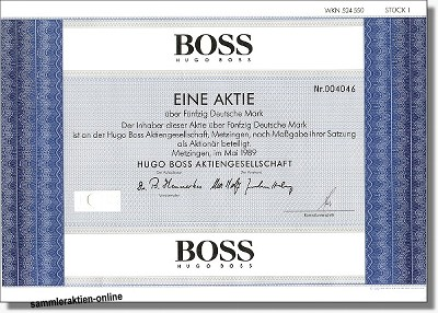HUGO BOSS AG