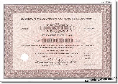 B. Braun Melsungen Aktiengesellschaft