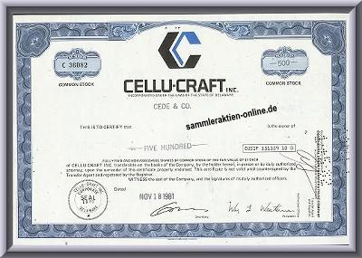 Cellu-Craft Inc.