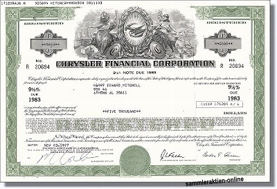 Chrysler Financial Corporation