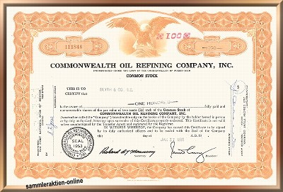 Commonwealth Oil Refining Company