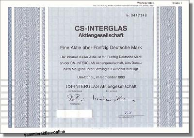 CS-Interglas AG