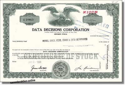 Data Decisions Corporation