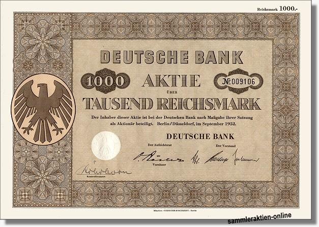 Deutsche Bank Ag Topoptik Und Mit Coupons Die Beruhmten Restquoten