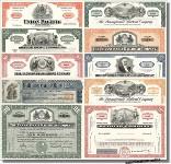 Eisenbahn Sammlung USA 10-er Paket