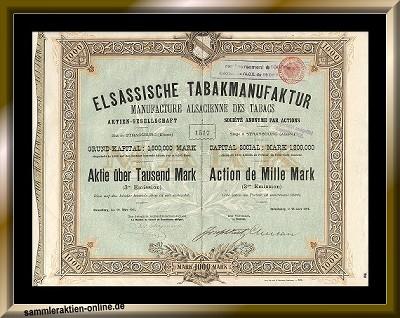 Elsässische Tabakmanufaktur AG