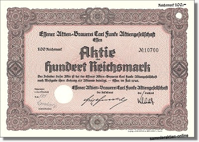 Essener Actien-Brauerei Carl Funke AG