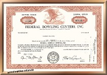 Federal Bowling Centers Inc.