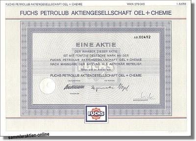 Fuchs Petrolub AG Oel und Chemie