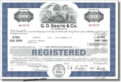 G. D. Searle & Co., heute bei Pfizer