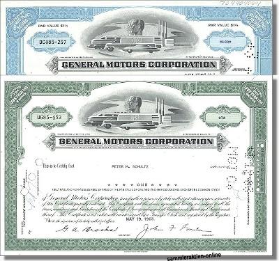 Branchenset Automobil - 2 x General Motors