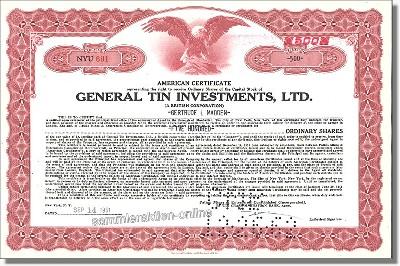 General Tin Investments Ltd.