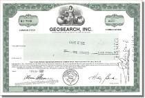 Geosearch Inc.