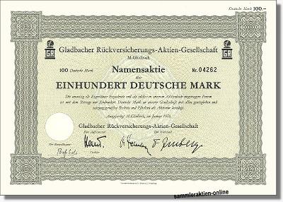 Gladbacher Rückversicherungs-AG