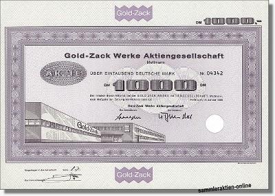 Gold-Zack Ag
