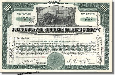 Gulf, Mobile and Northern Railroad Company