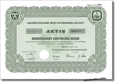 Hacker-Pschorr Bräu Aktiengesellschaft
