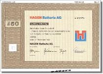 Hagen Batterie AG