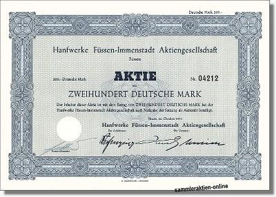 Hanfwerke Füssen-Immenstadt AG