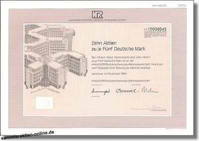 Hannover Rückversicherungs-Aktiengesellschaft