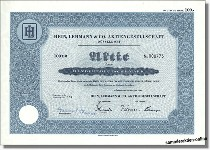 Hein, Lehmann & Co. Aktiengesellschaft