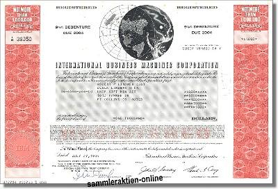 IBM International Business Machines Corporation