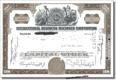 IBM International Business Machines Corporation