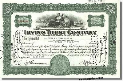 Irving Trust Company
