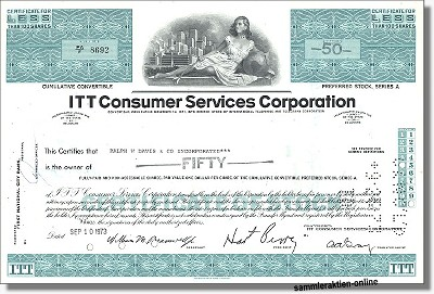 ITT Consumer Services Corporation