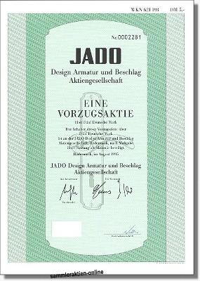 Jado Design, Armatur und Beschlag AG