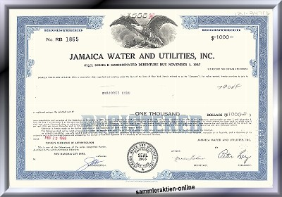 Jamaica Water and Utilities Inc.