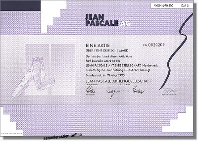 Jean Pascale AG