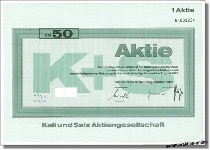 Kali und Salz, K+S AG