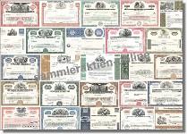 Aktien - Wertpapiere USA 100-er Paket