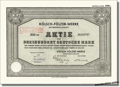 Kölsch Fölzer Werke AG