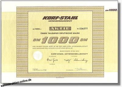 Korf-Stahl Aktiengesellschaft