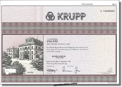 Fried. Krupp AG, Hoesch-Krupp