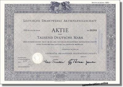 Leonische Drahtwerke AG