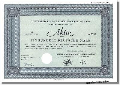 Gottfried Lindner Aktiengesellschaft