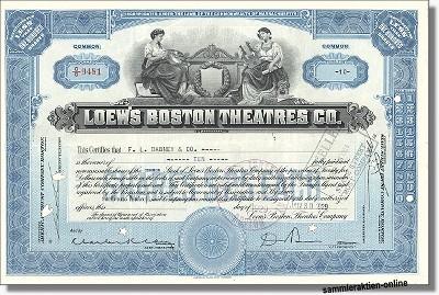 Loew's Boston Theatres Inc.