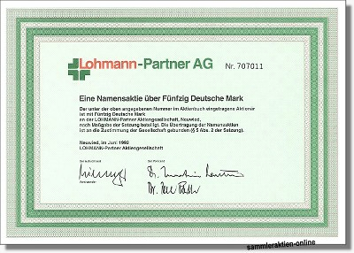 Lohmann-Partner AG
