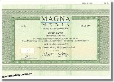 Magna Media Verlag Aktiengesellschaft