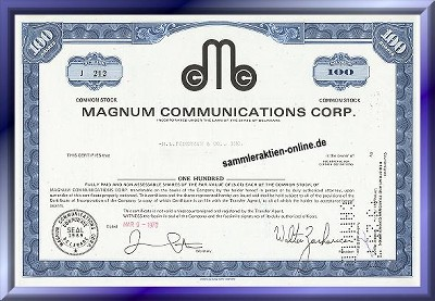 Magnum Communications Corp.