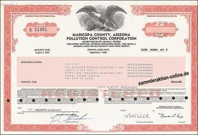 Maricopa County, Arizona Pollution Control Corporation